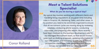 Meet the Team - Conor Rolland